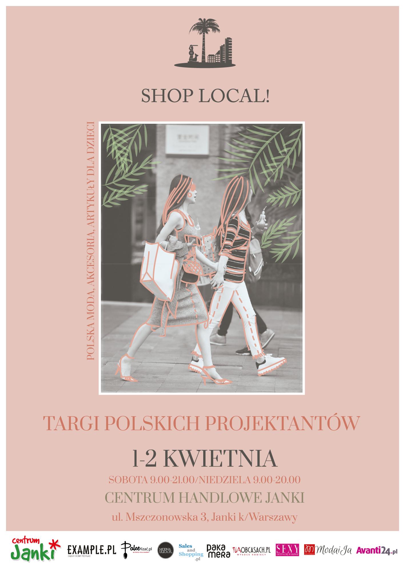 Targi Mody Shop Local w Warszawie 1-2 kwietnia 2017