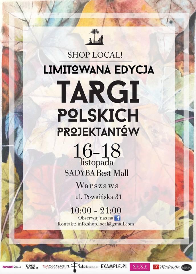 Targi Mody Shop Local w Warszawie 16-18 listopada 2015                         title=