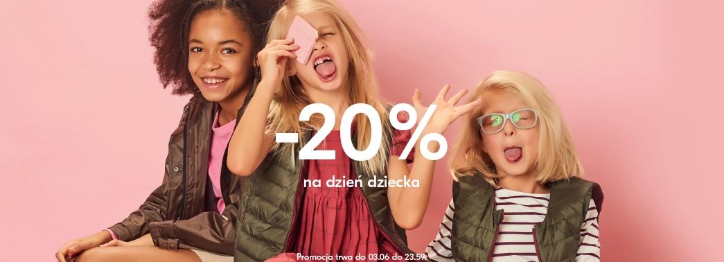 5b41068d6fc627 ShowRoom: 20% zniżki na odzież, obuwie i akcesoria dla dzieci z okazji Dnia  Dziecka