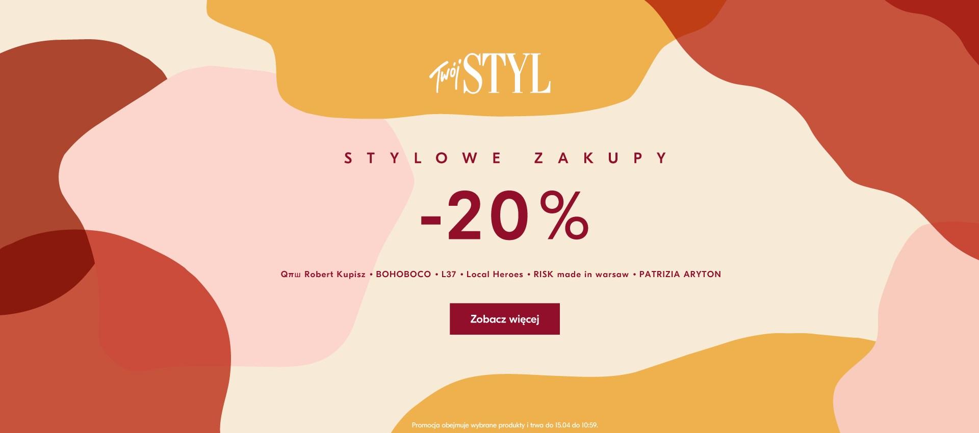 ShowRoom: Stylowe Zakupy 20% zniżki na wybrane produkty polskich marek