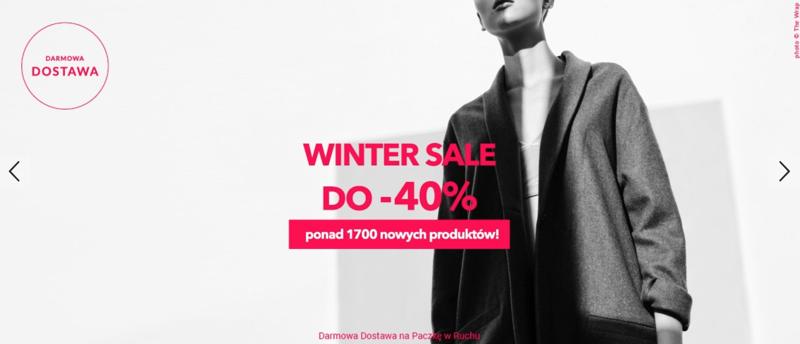 786448e1ac ShowRoom  wyprzedaż do 40% zniżki na odzież i kosmetyki