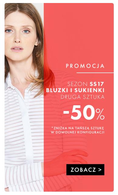 754d92d927 Simple  50% zniżki na drugą sztukę bluzek i sukienek z kolekcji wiosna lato  2017