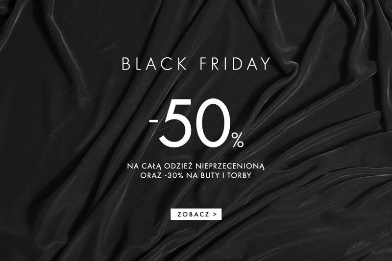 Simple Black Friday Simple: 50% zniżki na całą odzież nieprzecenioną oraz 30% zniżki na buty i torby