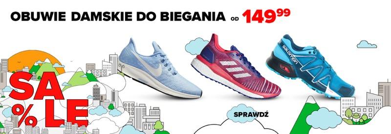 Sklep Biegacza: obuwie damskie do biegania od 149,99 zł
