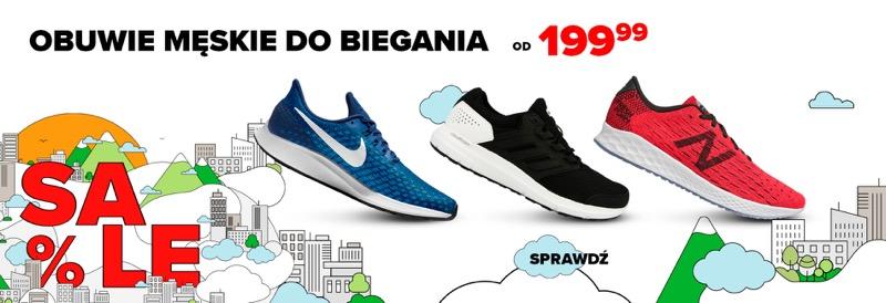 Sklep Biegacza: obuwie męskie do biegania od 199,99 zł