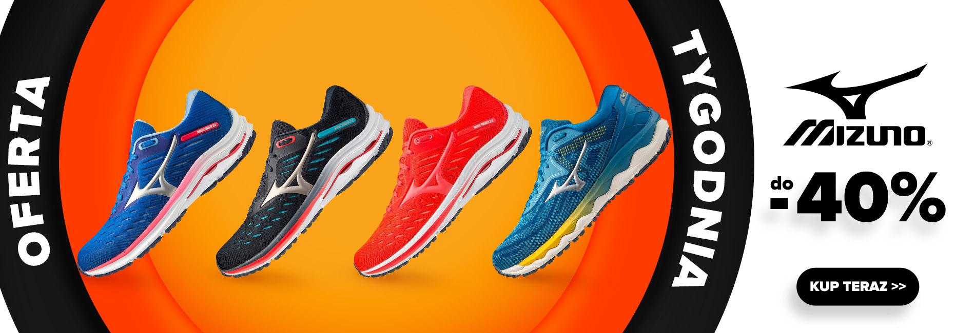 Sklep Biegacza: do 40% rabatu na obuwie do biegania marki Mizuno