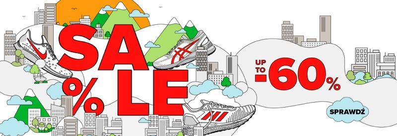 Sklep Biegacza: wyprzedaż do 60% zniżki na odzież i obuwie sportowe