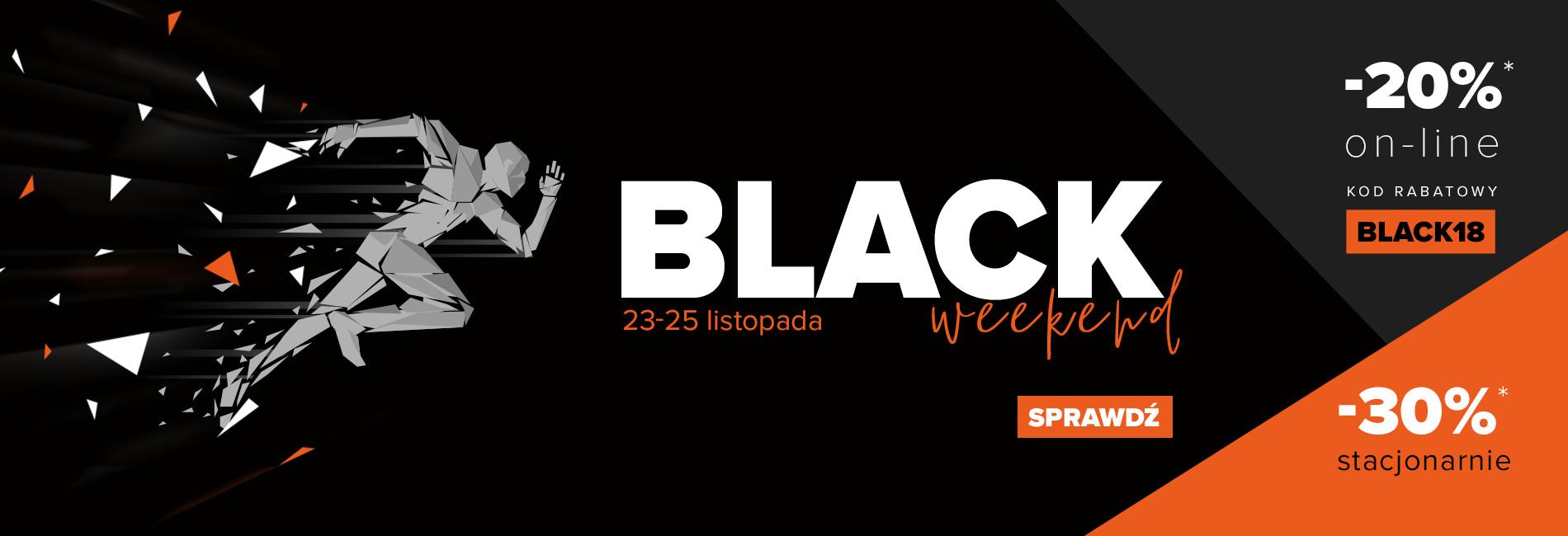 Black Weekend Sklep Biegacza: 20% rabatu na cały asortyment