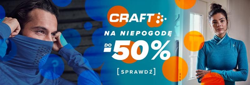 Sklep Biegacza: do 50% zniżki na odzież do biegania marki Craft