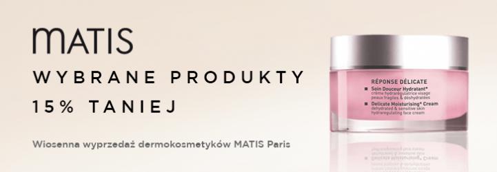 Sklep Estetyka: 15% zniżki na wybrane produkty dermokosmetyków Matis Paris