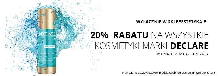 Sklep Estetyka: 20% zniżki na wszystkie kosmetyki marki DECLARE