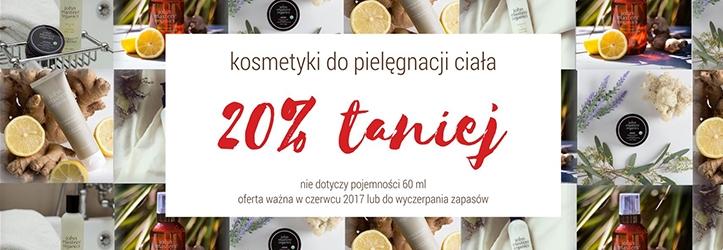 Sklep Estetyka: 20% rabatu na kosmetyki do pielęgnacji ciała