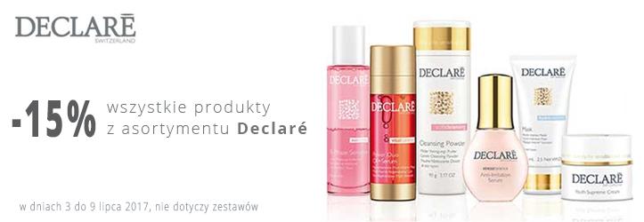 Sklep Estetyka: 15% rabatu na wszystkie produkty z asortymentu Declare