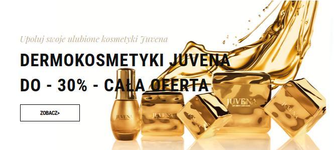 Sklep Estetyka: do 30% rabatu na dermokosmetyki marki Juvena