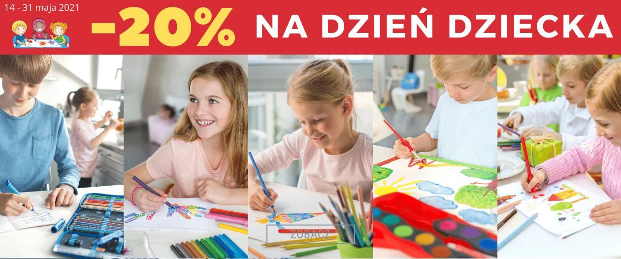 Autoryzowany sklep FABER-CASTELL Autoryzowany sklep FABER-CASTELL: 20% rabatu na akcesoria plastyczne dla dzieci z okazji Dnia Dziecka
