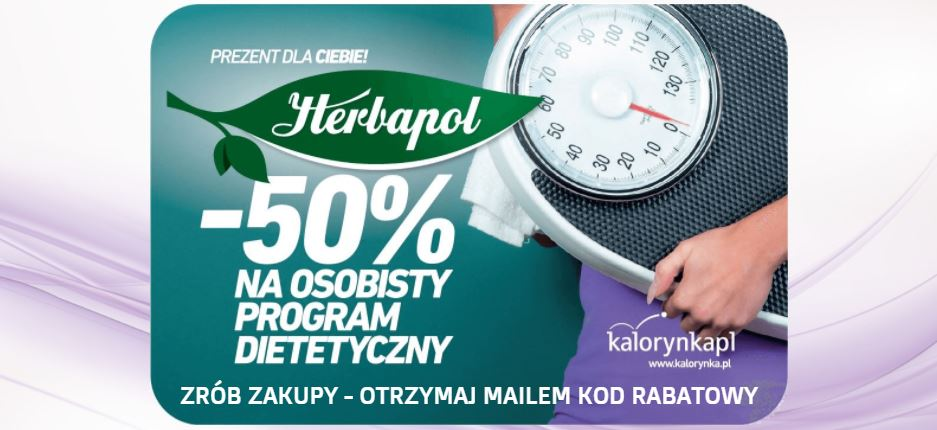 Smaczna Herbata: 50% rabatu na osobisty program dietetyczny po zrobieniu zakupów
