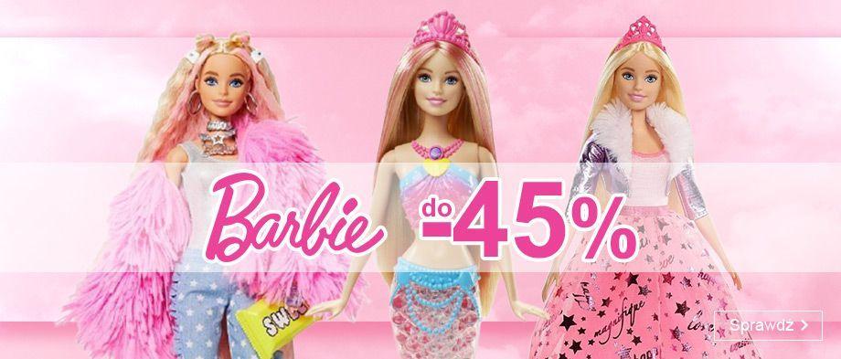 Smyk Smyk: do 45% rabatu na lalki Barbie