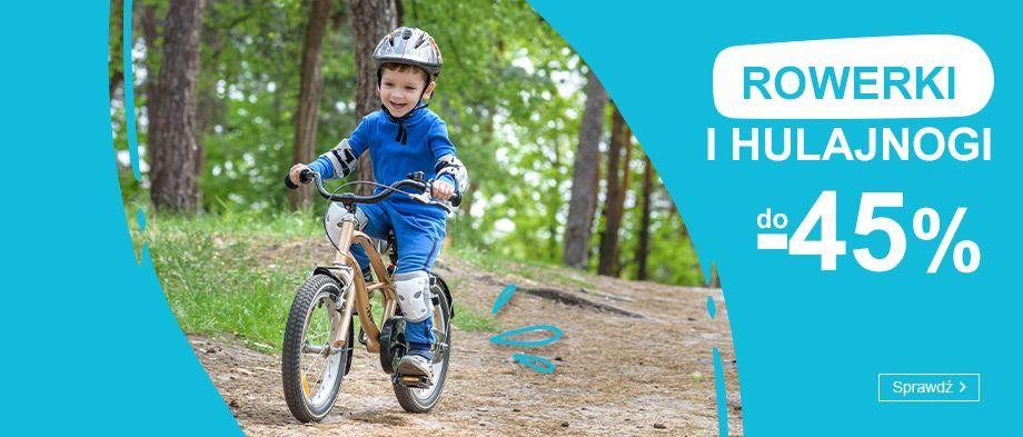 Smyk: do 45% rabatu na rowerki i hulajnogi