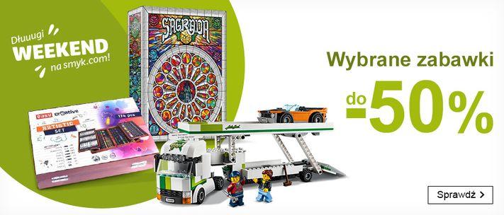 Smyk: do 50% rabatu na wybrane zabawki dla dzieci