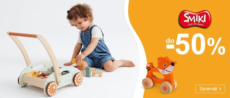 Smyk: do 50% zniżki na zabawki dla dzieci marki Smiki