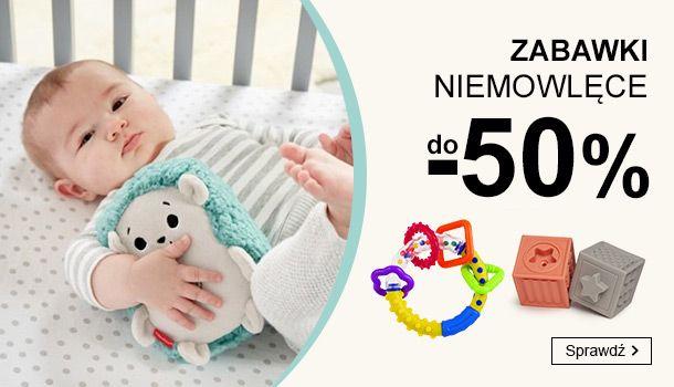 Smyk: do 50% zniżki na zabawki niemowlęce                         title=