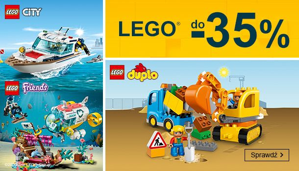 Smyk: do 35% rabatu na zabawki Lego City, Duplo i Friends                         title=