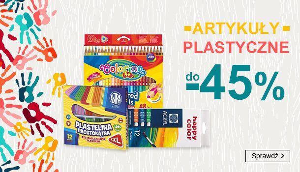 Smyk Smyk: do 45% zniżki na artykuły plastyczne