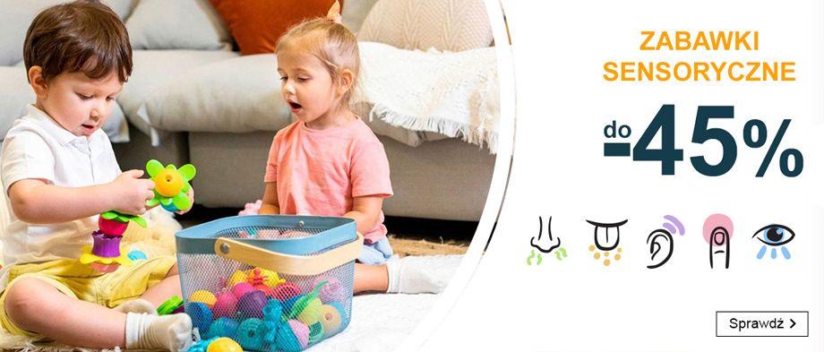 Smyk: do 45% zniżki na zabawki sensoryczne                         title=