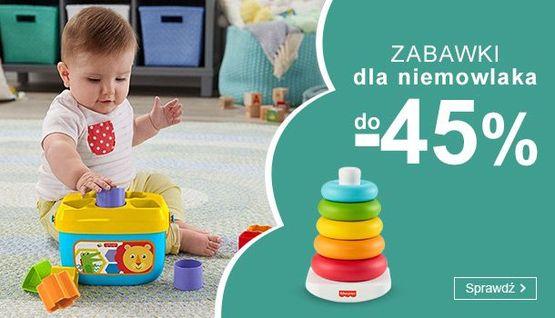 Smyk Smyk: do 45% zniżki na zabawki dla niemowlaka