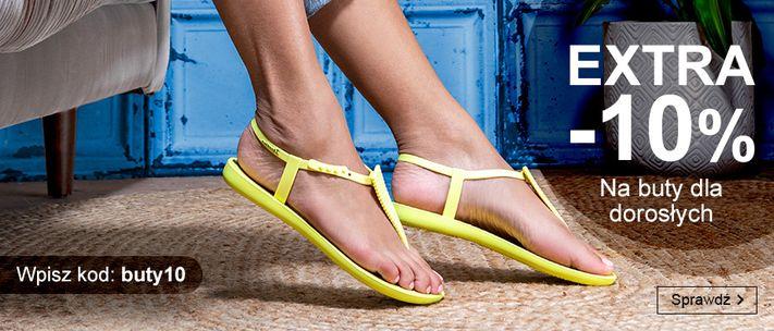 Smyk: extra 10% rabatu na obuwie dla dorosłych