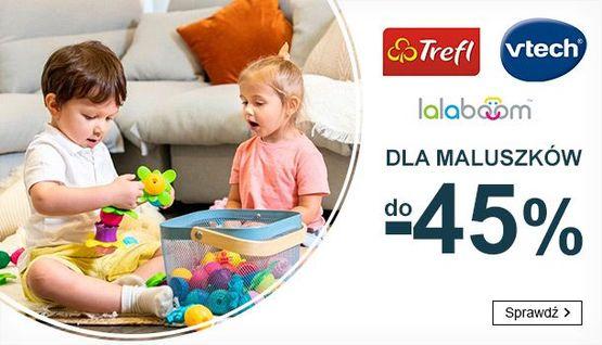 Smyk Smyk: do 45% zniżki na zabawki dla maluszków marek Trefl, Vtech, Lalaboom