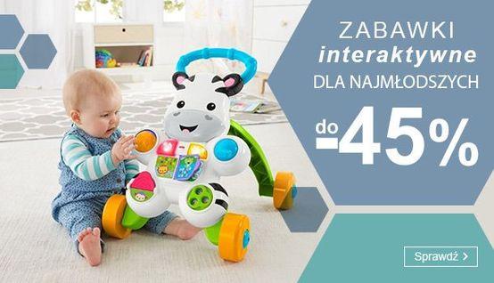 Smyk Smyk: do 45% zniżki na zabawki interaktywne dla najmłodszych