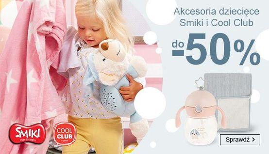 Smyk: do 50% zniżki na akcesoria dziecięce marek Smiki i Cool Club