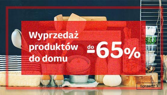 Smyk Smyk: wyprzedaż do 65% zniżki na produkty do domu