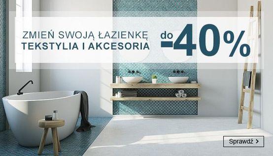 Smyk Smyk: do 40% zniżki na tekstylia i akcesoria łazienkowe