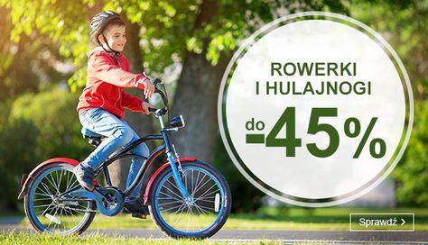 Smyk: do 45% zniżki na rowerki i hulajnogi