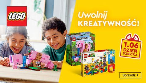 Smyk: do 45% zniżki na zestawy klocków Lego - prezent na Dzień Dziecka