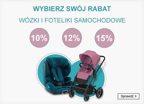 Smyk: do 15% rabatu na wózki i foteliki samochodowe