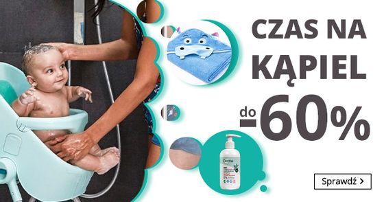 Smyk Smyk: do 60% rabatu na akcesoria do kąpieli dla dzieci i niemowląt
