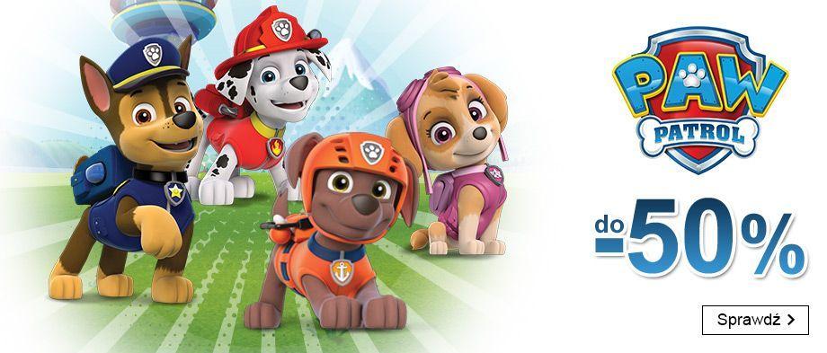 Smyk: promocja do 50% zniżki na zabawki z serii Psi Patrol