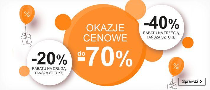 Smyk: do 70% rabatu na odzież, obuwie oraz akcesoria i zabawki dla dzieci