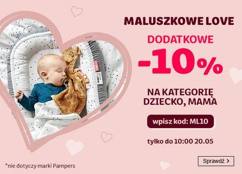 Smyk Smyk: dodatkowe 10% rabatu na kategorie dziecko, mama - Maluszkowe Love
