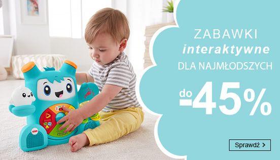 Smyk: do 45% zniżki na zabawki interaktywne dla najmłodszych