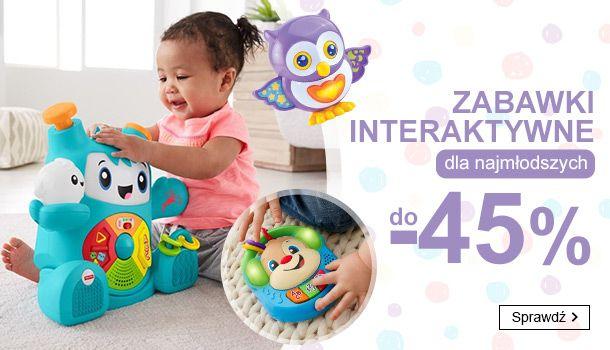 Smyk: do 45% zniżki na zabawki interaktywne dla najmłodszych                         title=
