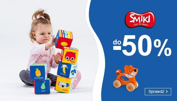 Smyk: do 50% zniżki na zabawki marki Smiki                         title=