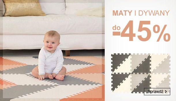 Smyk: do 45% zniżki na maty i dywany do pokoju dziecięcego                         title=