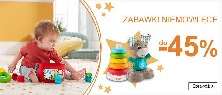 Smyk Smyk: do 45% rabatu na zabawki niemowlęce