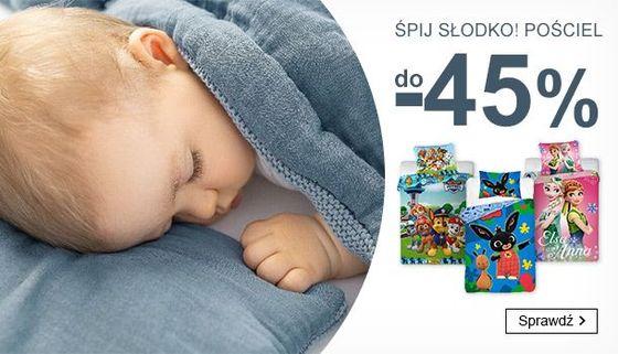 Smyk Smyk: do 45% rabatu na pościel dla dzieci