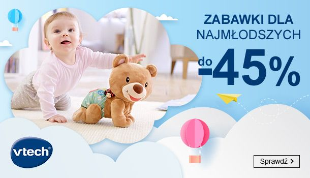 Smyk: do 45% zniżki na zabawki dla najmłodszych marki Vtech