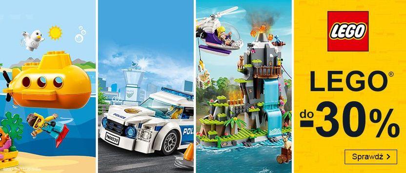 Smyk: do 30% zniżki na klocki Lego